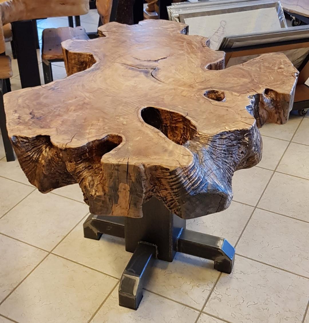 Tavolino da salotto ulivo